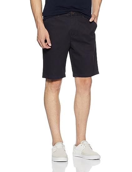 Amazon Brand - Symbol Men's Cotton Shorts Men's Shorts at amazon