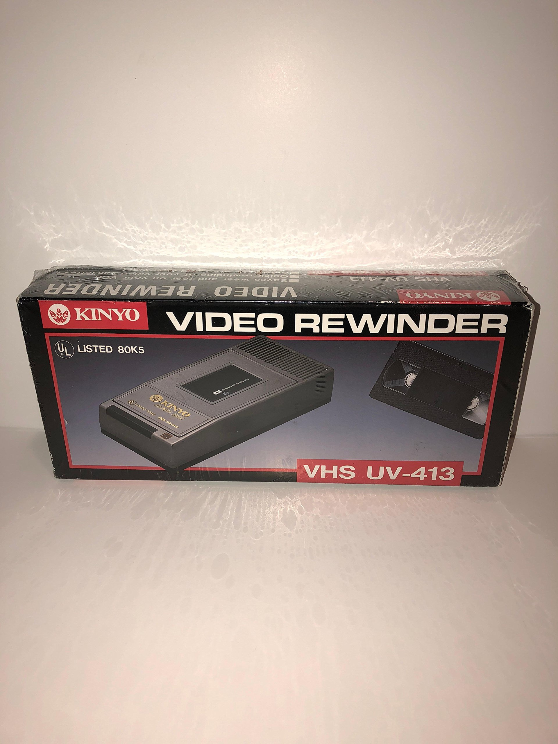 KINYO UV-413 1-Way VHS Rewinder by Kinyo