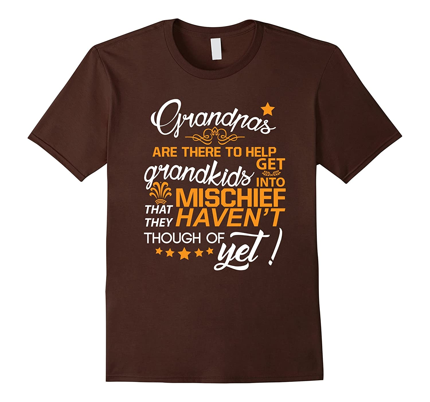 Grandpas Are There To Help Grandkid T Shirt-TH