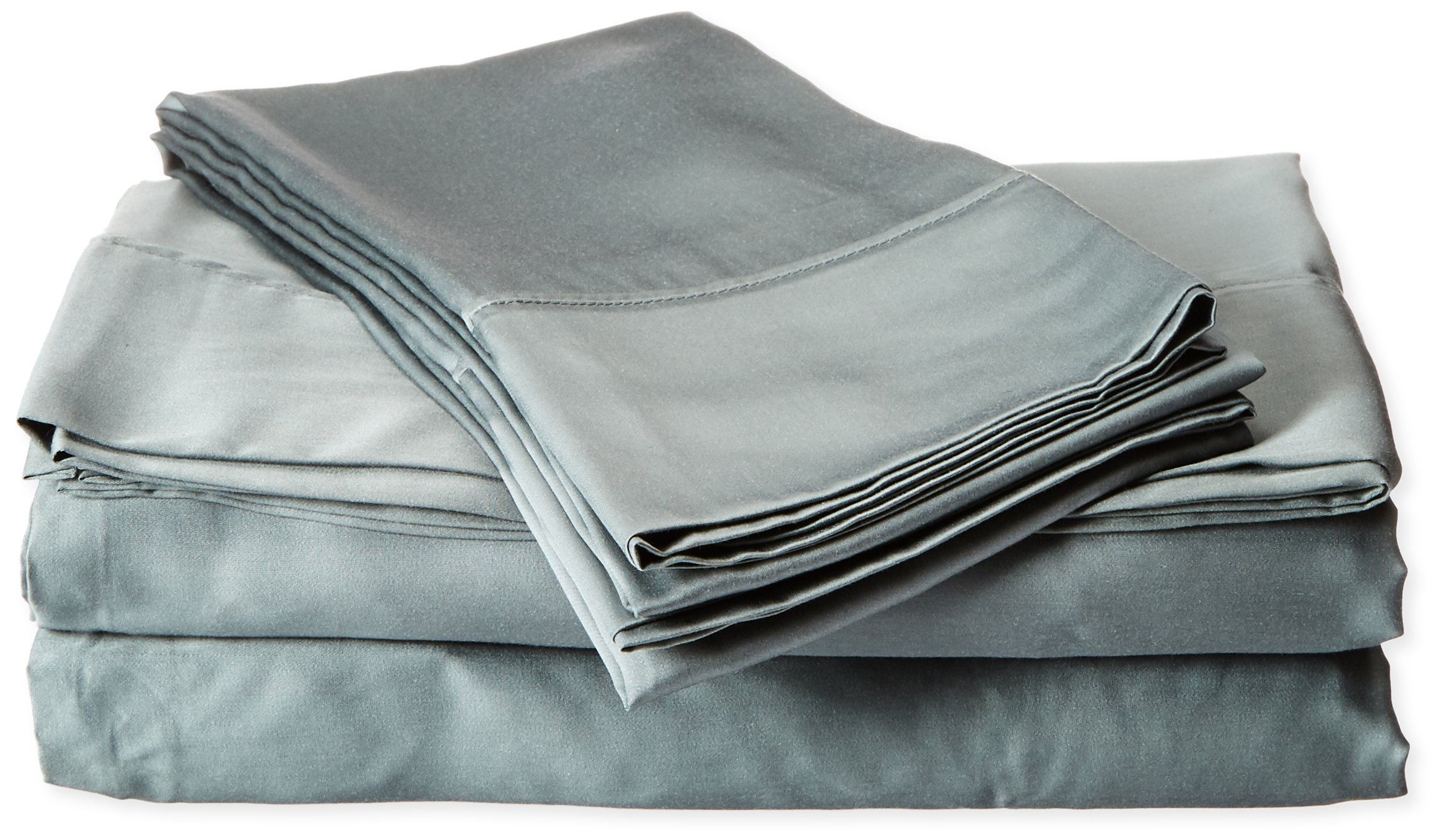 Brielle 100-Percent Sateen Modal from Beech Pillow Case Set, Standard, Peacock - Standard Pillow Case Set Includes 2 Standard Pillow cases (21x30 in.) Materials: Modal (100-percent Rayon from Beech) Care Instructions Machine Wash Cold, Gentle Cycle, Tumble Dry Low, Do not completely dry and remove immediately to avoid wrinkles - sheet-sets, bedroom-sheets-comforters, bedroom - 8106mb%2B7cmL -