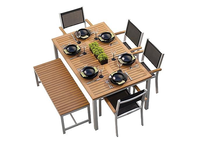 Amazon.com: Oxford Jardín travira 6 piezas Set de comedor ...