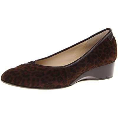 Taryn Rose Women's Felicity Flat,Dark Brown (Leopard Print),5 M US: Shoes