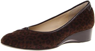Taryn Rose Women's Felicity Flat,Dark Brown (Leopard Print),5 ...