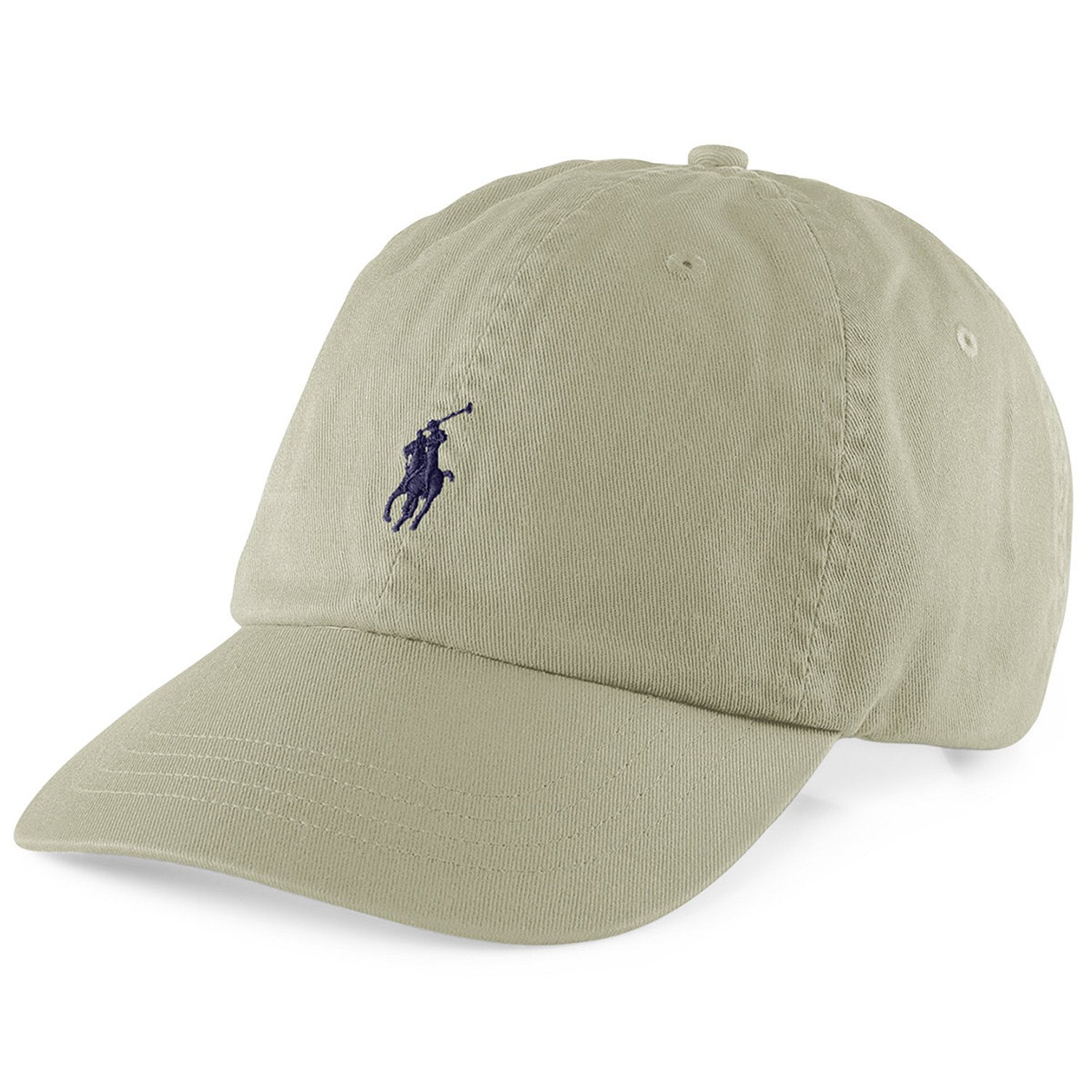 Polo Fashion Signature Pony Adjustable Beige Cotton Hat at Amazon Men s  Clothing store  e6a22bf4d31