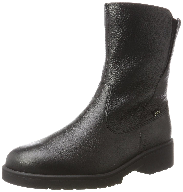 Ganter Ellen-Stiefel-g, Gore-Tex, Botas para Mujer38.5 EU|Negro (Schwarz 01000)