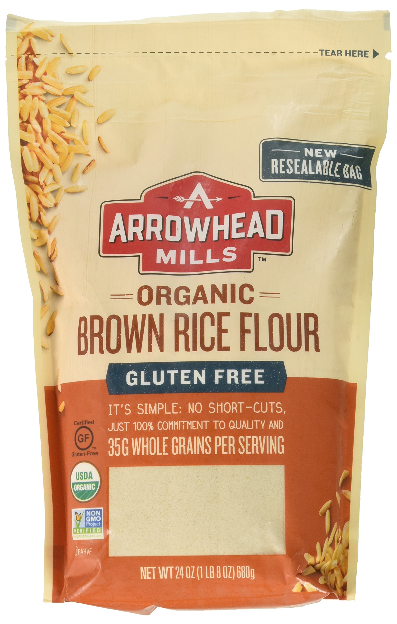 Amazon.com : Arrowhead Mills Organic Stone Ground Whole