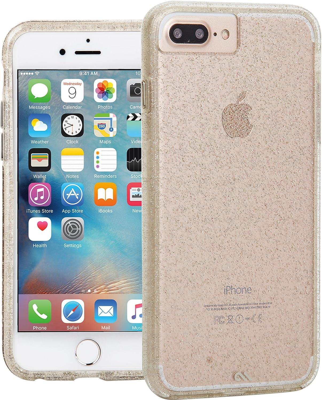 Case Mate Apple iPhone 6 Plus/6s Plus/7 Plus/8 Plus Sheer Glam Case - Champagne