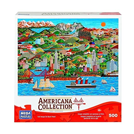 Tannenbaum Puzzle.Amazon Com Americana Collection The Golden State By Anthony Kleem