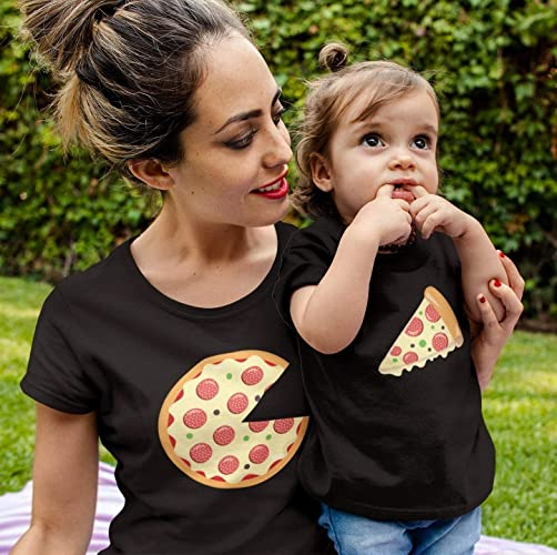 fb05c3193 Amazon.com: Matching Pizza T Shirt Set, Missing Slice, Couples, Mother Daughter  Father Son Tshirt, Funny, Graphic Tee, Printed On American Apparel: Handmade
