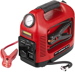 Wagan EL7550 Starter V6 Jump Booster, Portable Supply, Power, Air Compressor, Battery Station and Tire Inflator