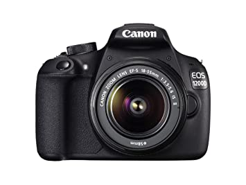 Canon EOS 1200D Digital SLR Camera with EF-S 18-55mm f/3 5-5 6 IS II Lens