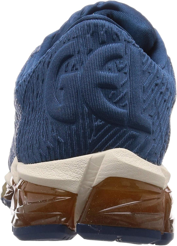 ASICS Herren Gel-Quantum 360 5 Running Shoe, Bianco, 45 EU Mako Blue Mako Blue