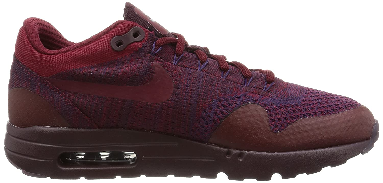 Nike Men's Air Max 1 Ultra Flyknit, BLACK/BLACK-ANTHRACITE B01L91FG7U 7 M US|Grand Purple/Team Red