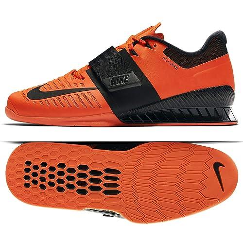 bfed9edc2fdf7 Nike Romaleos 3 852933 801 Hyper Crimson/Black Men's Weightlifting Shoes