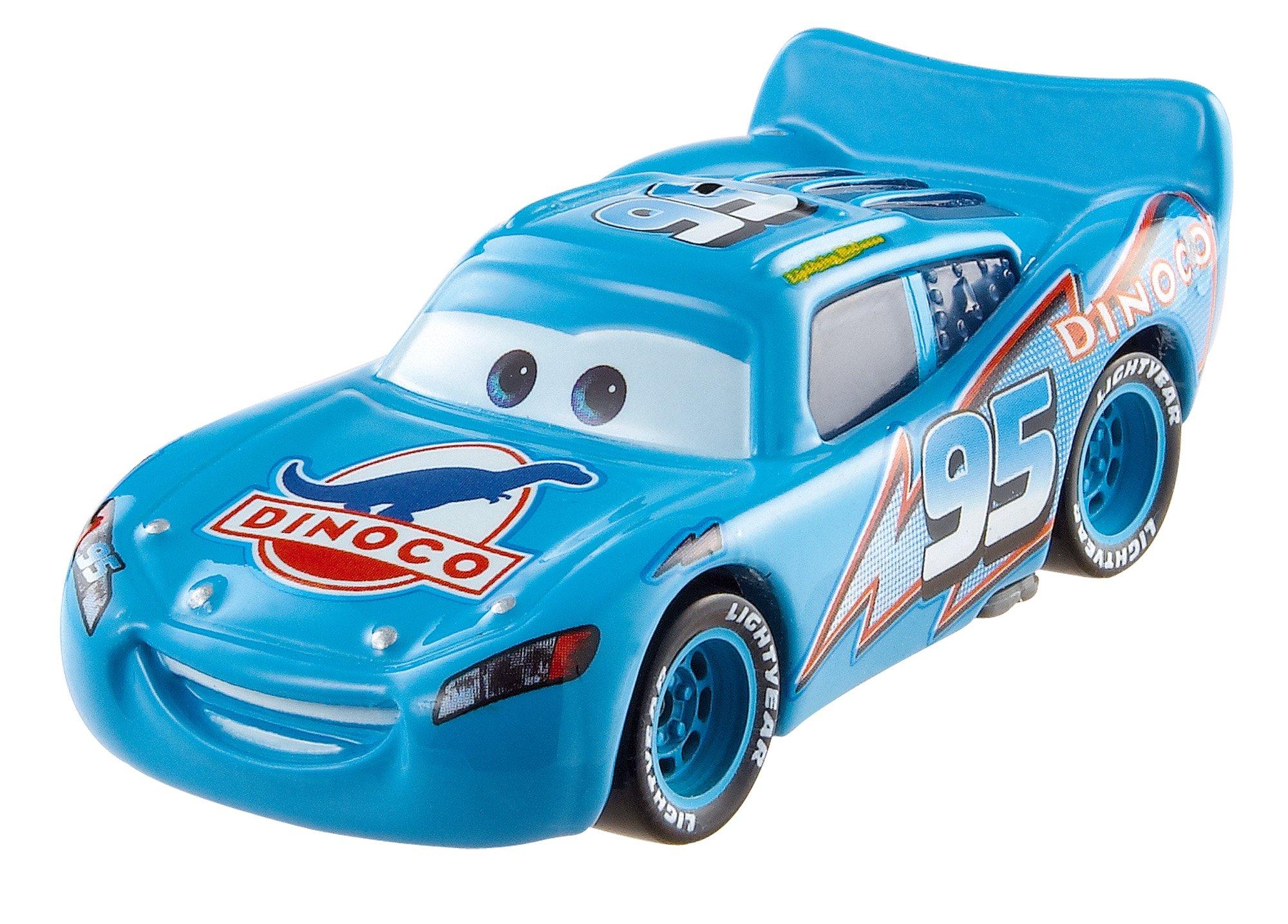 Disney Pixar Cars Pull Backs Dinoco Lightning McQueen Vehicle