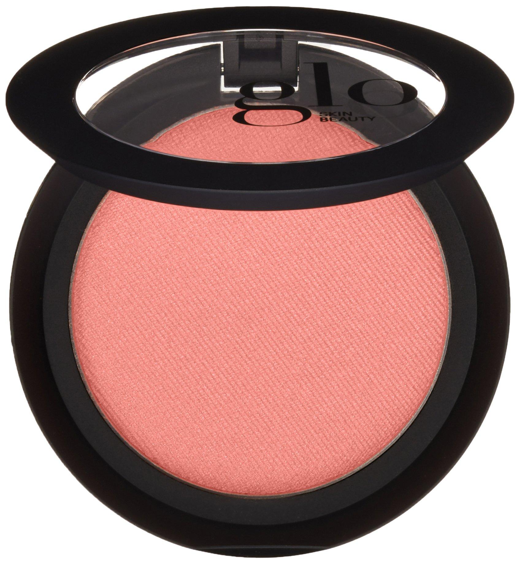 Glo Skin Beauty Powder Blush in Papaya - Matte Pink Coral   9 Shades   Cruelty Free, Talc Free Mineral Makeup