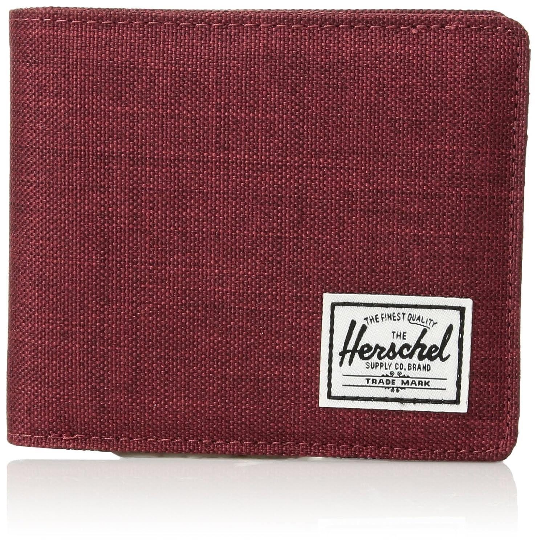 Herschel Roy Plus Coin XL RFID Wallet Winetasting Crosshatch 10404-01158-OS