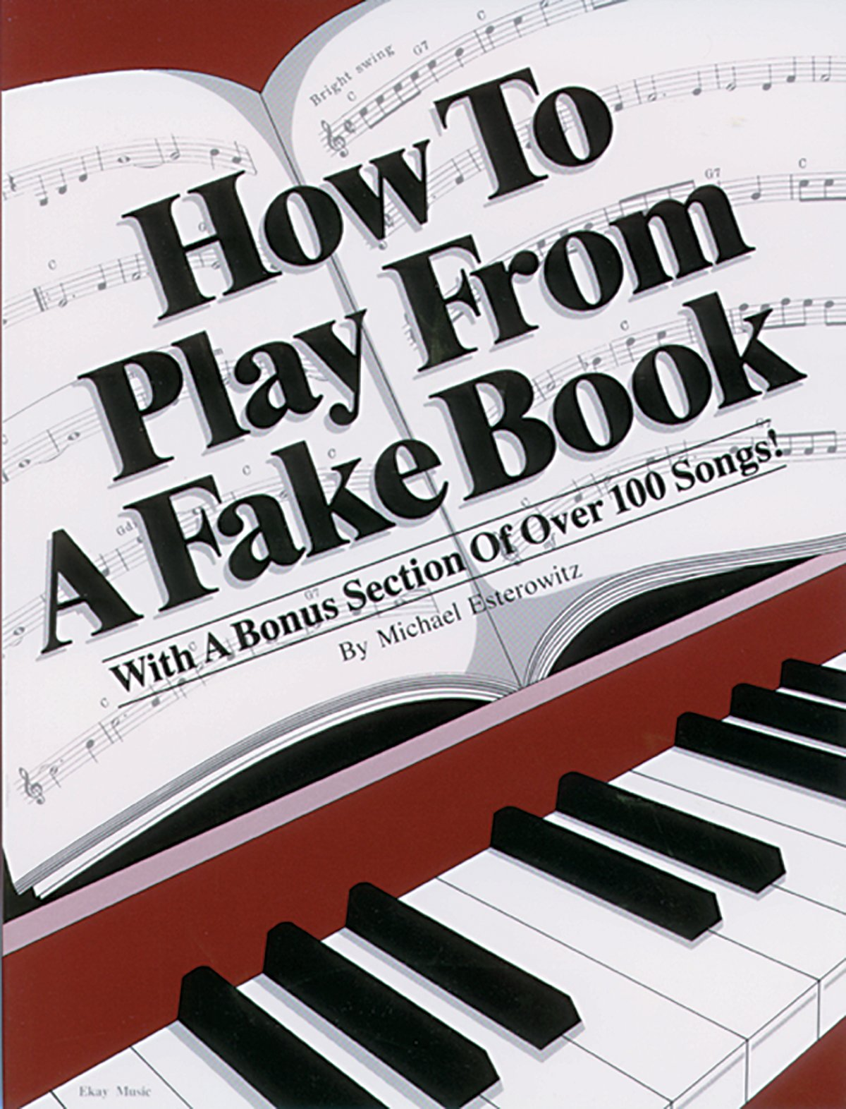 how to play from a fake book michael esterowitz 0029156218251