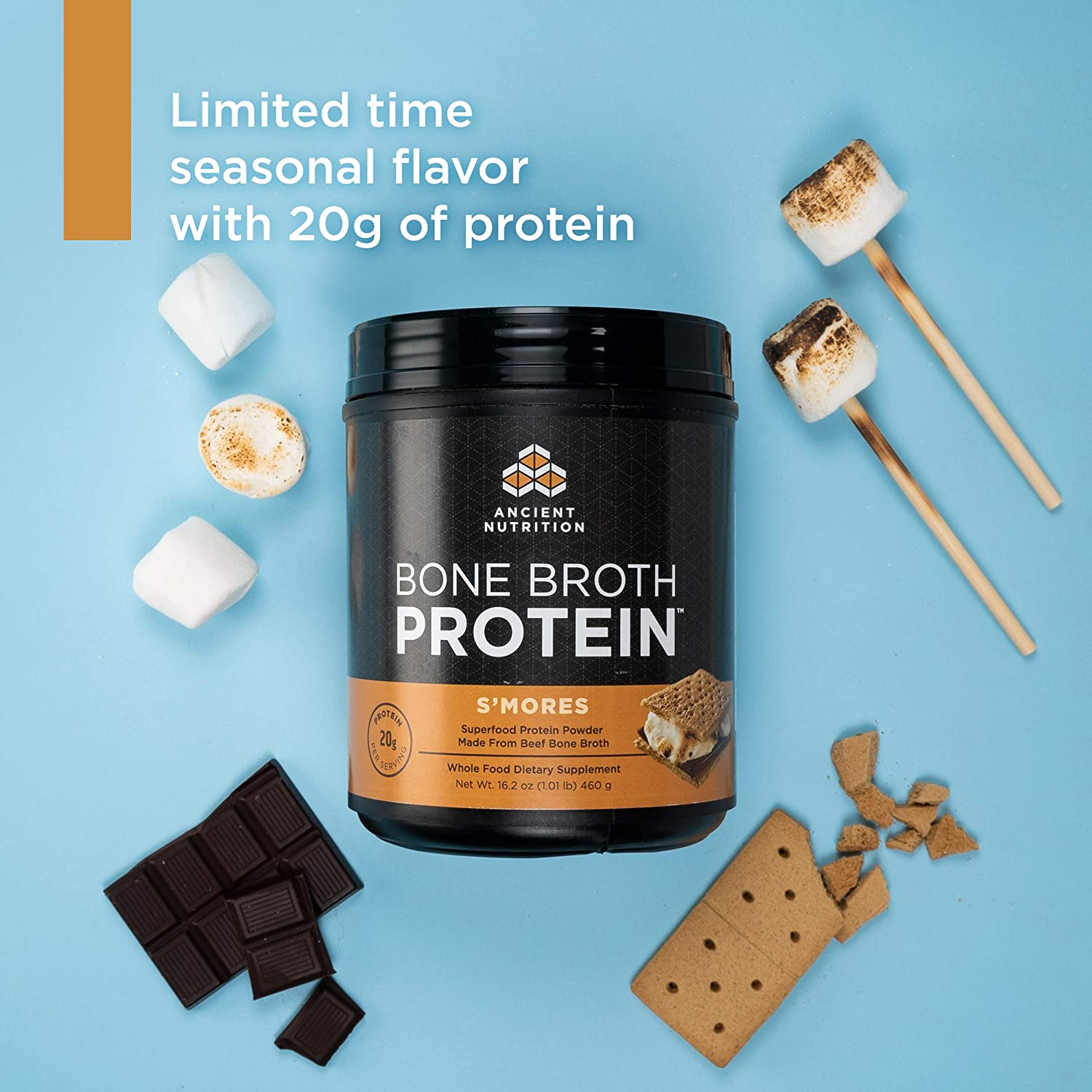 Amazon.com  Ancient Nutrition Bone Broth Protein Powder e896c4c4ecf