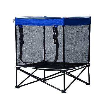 Pawhut exterior Pet sombra cachorro Cat Dog Cama elevada transpirable Caseta de camping plegable: Amazon.es: Productos para mascotas