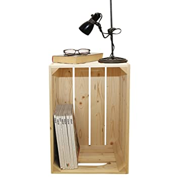 Simply A Box Table De Chevet 1s Caisses En Bois 54x36x30cm Fabriquee Main En France