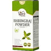 Spierb Bhringraj Powder for Hair Growth Natural Bhringaraj Leaves Powder Hair Thickener Herbal Hair Powder (250gm)
