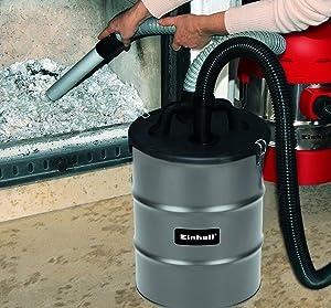 Einhell Aschefilter 12 Liter zum Reinigen von Kaminöfen