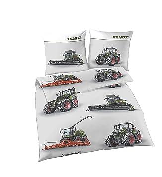 Traktoren Bettwäsche 135x200 Jungen Traktor Mähdrescher Design