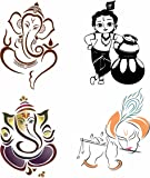 walldesign radium stickers design for bikes om tattoo design Cool Bike Stickers asmi collection wv01rca07931 god stickers for car, bike, scooter (multicolour)