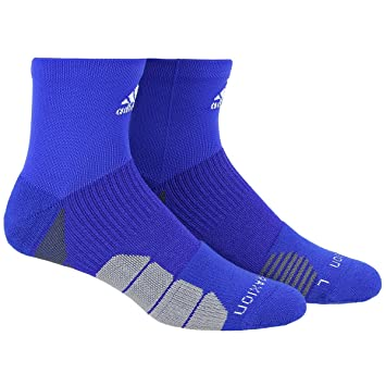 00c1fadce adidas Traxion Menace Basketball/Football High Quarter Socks (1-Pack), Bold