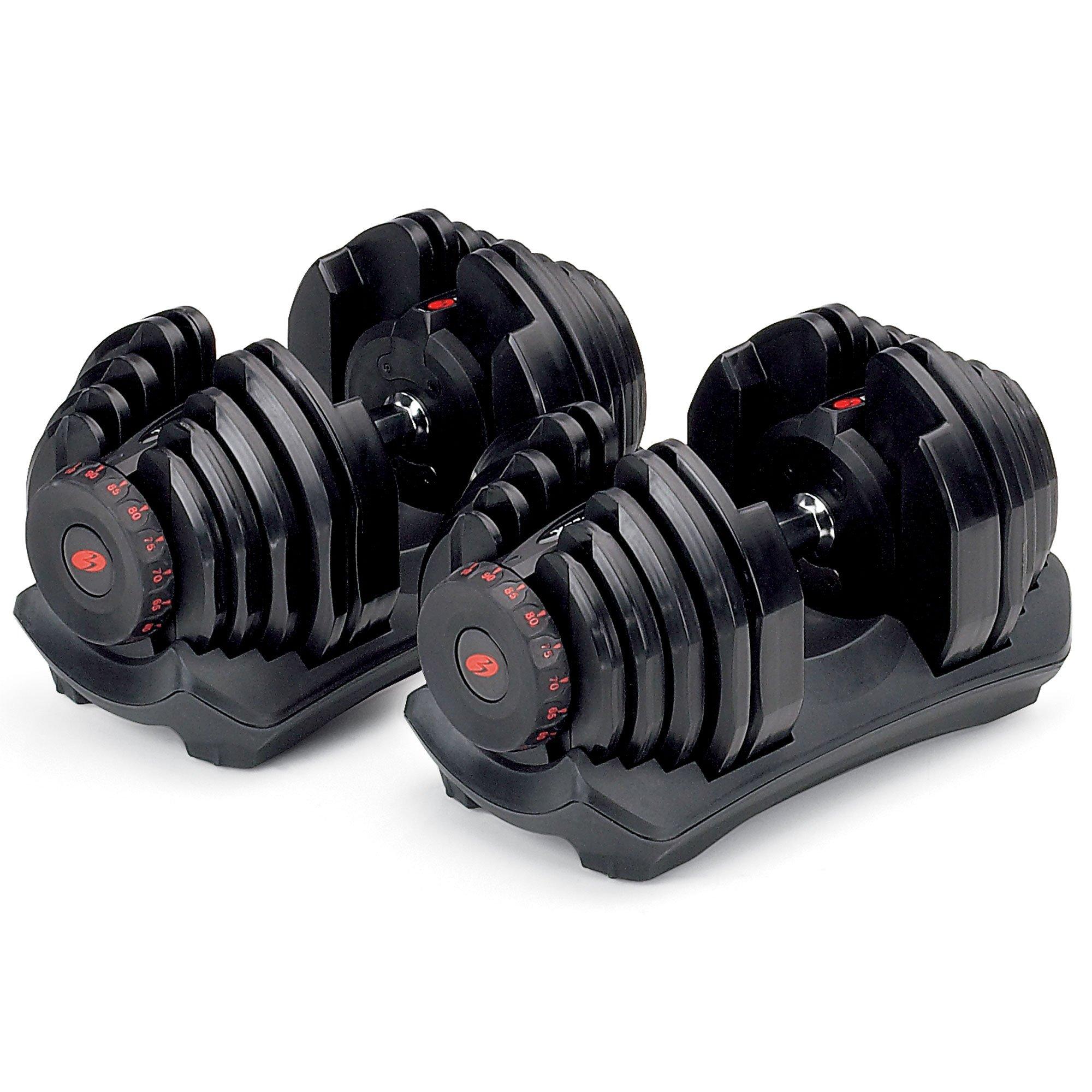 Bowflex SelectTech 1090 Adjustable Dumbbell (Pair) by Bowflex