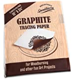 "Premium Graphite Tracing Paper We Take Care Of Our Customers! Transfer Paper for Tracing Designs To Your Projects (5 Sheets - 18"" x 24"")"