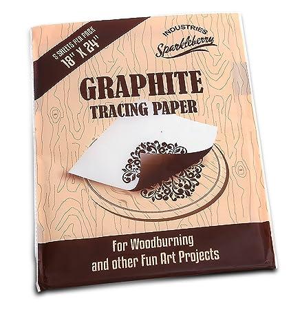 amazon com graphite transfer carbon paper transfer paper for