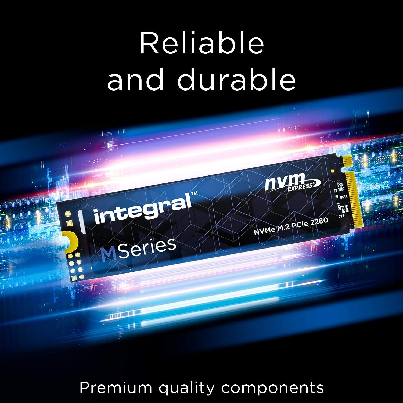 Integral SSD 512 GB M Series M.2 2280 PCIe Gen3x4 NVMe - Alta ...