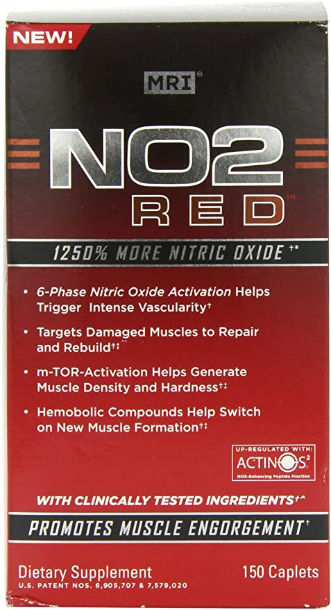 Natural T Booster MRI NO2 Red Test Limited Supply 90 Tablets
