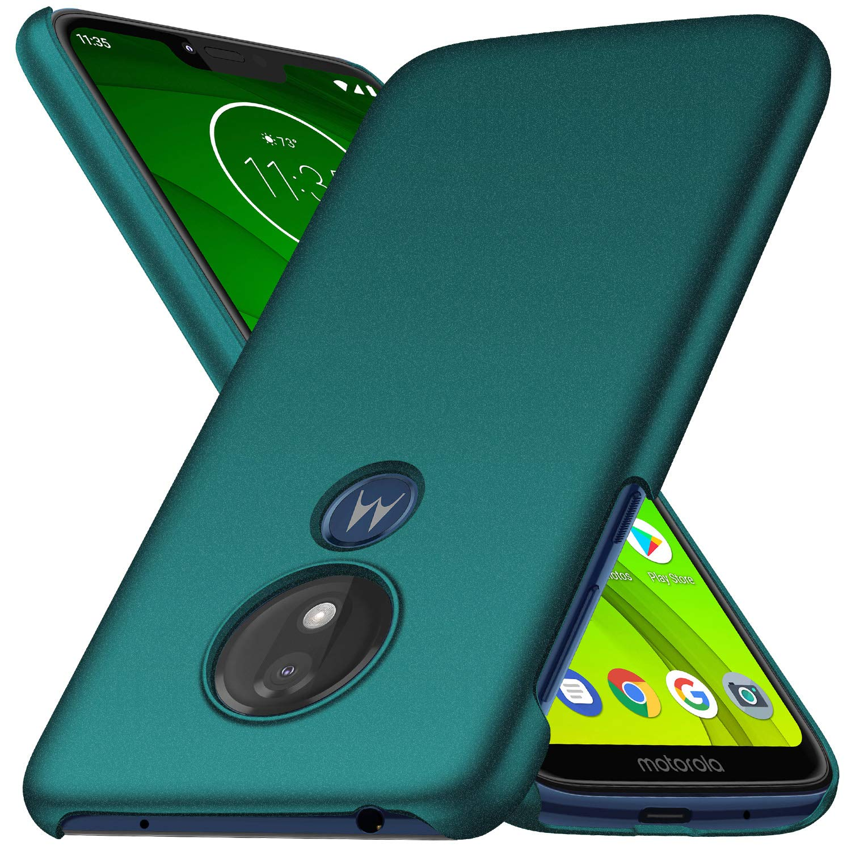 Funda Para Motorola g7 power Super Delgada, verde