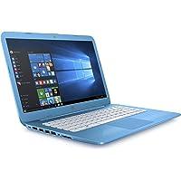 HP Stream 14-cb007na 14 Inch Laptop, (Aqua Blue) (Intel Celeron N3060, 4 GB RAM, 32 GB eMMC, Office 365 and 1 TB OneDrive Cloud Storage, 1 Year Subscription Included , Windows 10 Home)
