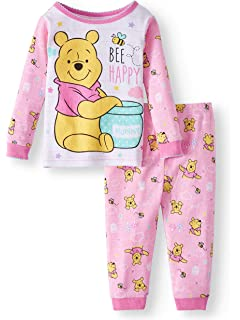 53423ae5a3d6 Amazon.com  Disney Winnie The Pooh and Pals PJ PALS Set for Girls ...