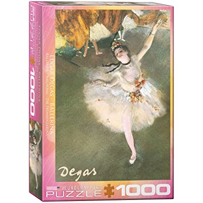 EuroGraphics Ballerina by Degas 1000 Piece Puzzle: Toys & Games