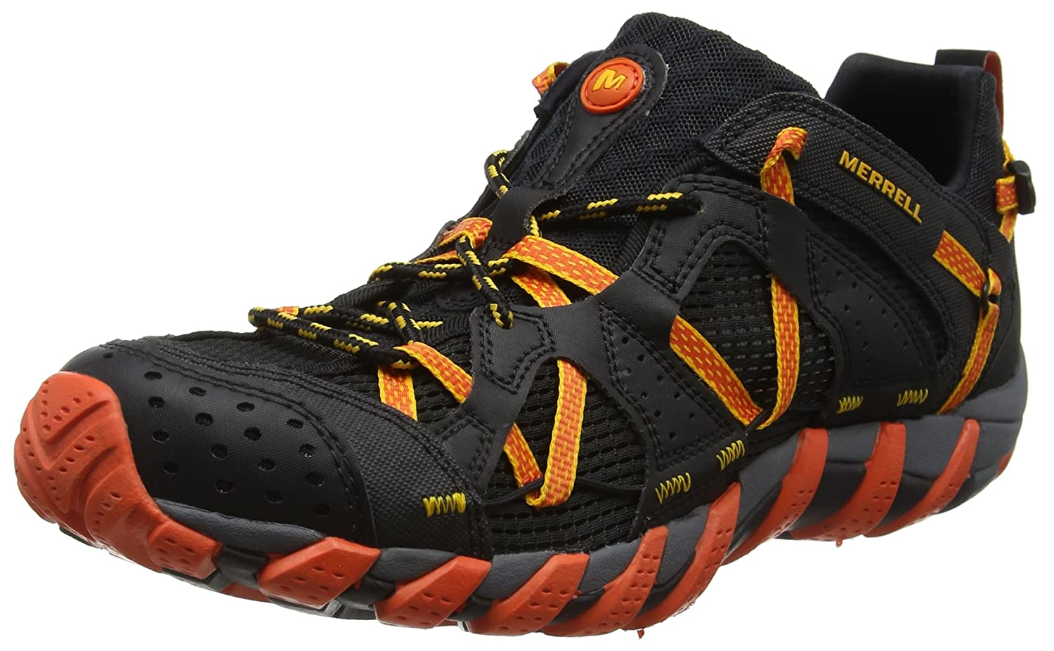 MerrellメンズWaterpro Maipo Water Shoe B077P77ZGD 7|Black Hot Coral Black Hot Coral 7