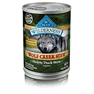 Blue Buffalo Wilderness Wolf Creek Stew High Protein Grain Free, Natural Wet Dog Food