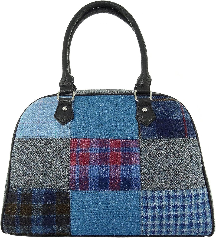 Ladies Harris Tweed Nairn Patch Bag In Various Colours LB1022