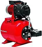 Einhell Hauswasserwerk Set GC-WW 6538 Set (650 W, 3800 L/h Fördermenge, max. Förderdruck 3,6 bar, Druckschalter, Manometer, 20 L Behälter)