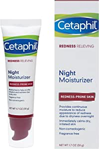 Cetaphil Redness Relieving Night Moisturizer, 1.7 Ounce