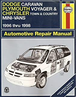 Dodge caravanplymouth voyagerchrysler town country 96 02 haynes dodge caravan plymouth voyager chrysler town country mini vans 1996 thru fandeluxe Image collections