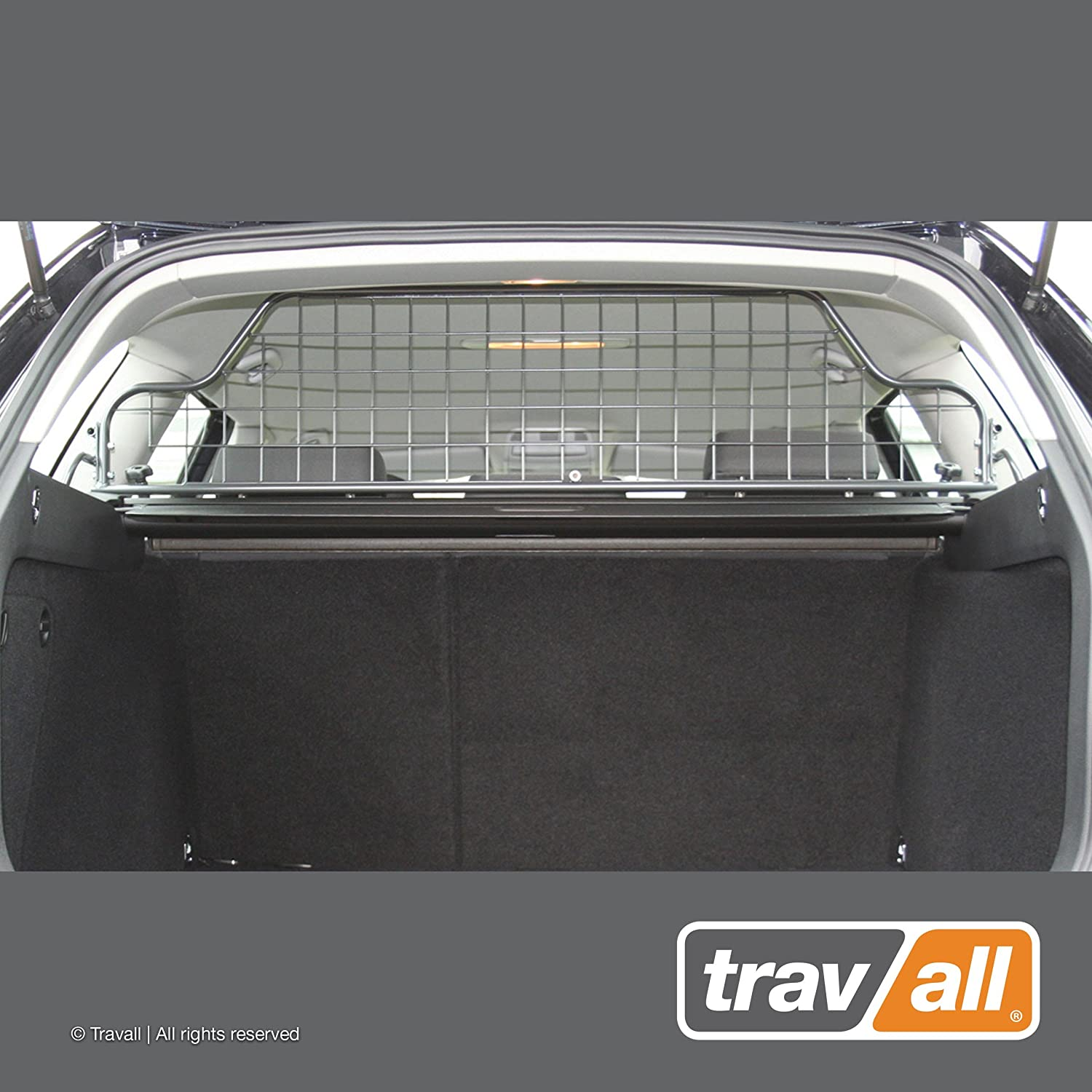 Travall Guard Compatible with Volkswagen Golf Wagon Without Sunroof 2007-2013 Jetta SportWagen 2005-2015 TDG1094 – Rattle-Free Steel Pet Barrier