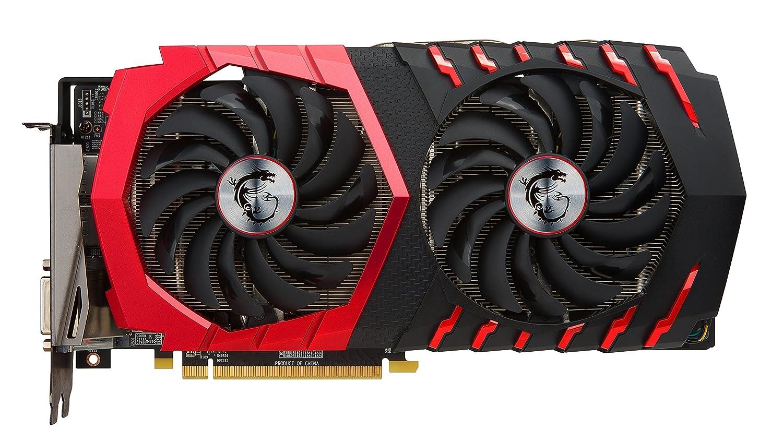 MSI Radeon RX 580 Gaming X 4G - Tarjeta gráfica (refrigeración Twin Frozr Vi, 4 GB Memoria GDDR5)
