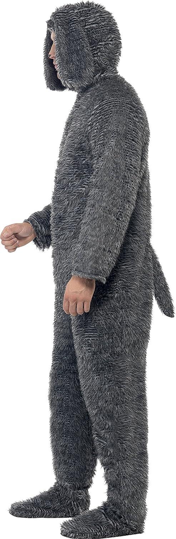Amazon.com Smiffyu0027s Menu0027s Fluffy Dog Costume All In One with Hood Clothing  sc 1 st  Amazon.com & Amazon.com: Smiffyu0027s Menu0027s Fluffy Dog Costume All In One with Hood ...
