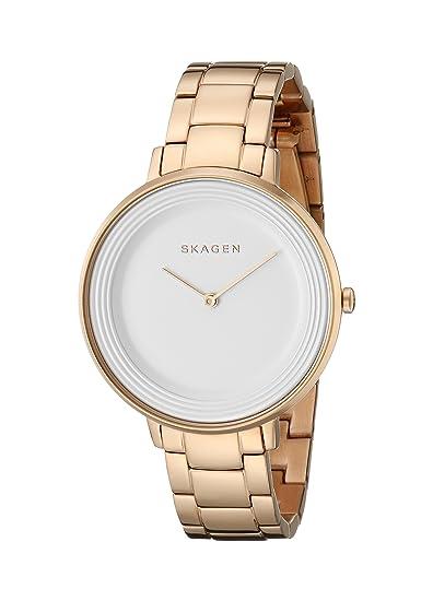 Skagen SKW2331 - Reloj de eslabón para Mujer, Color Oro Rosa