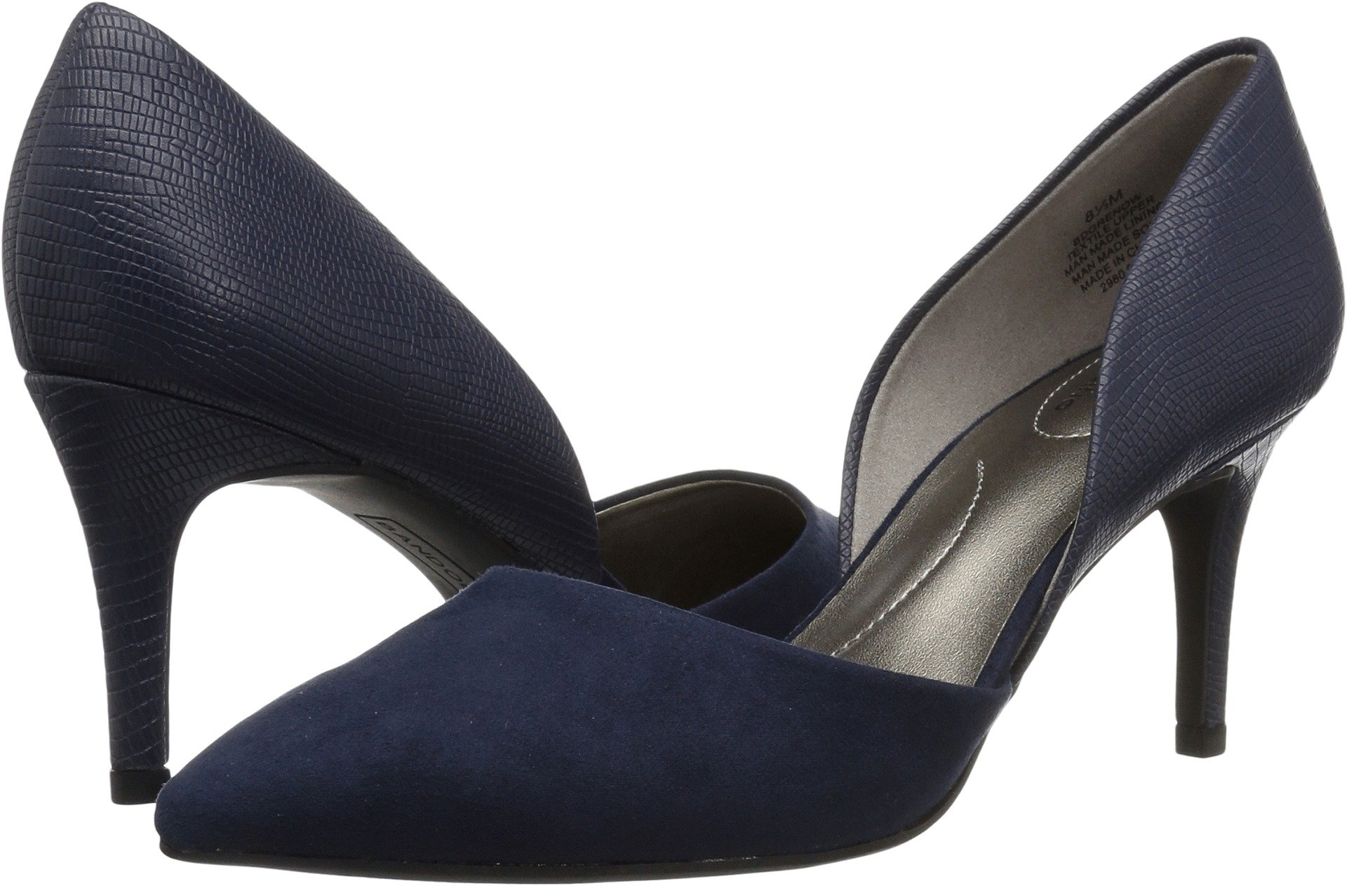 Bandolino Women's Grenow Pump, Navy, 8 M US